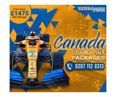 Reach us @ 0207-112-8313 to be a part of the most prestigious Canadian Prix!