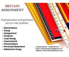Custom Assignment or Essay writing services