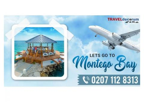 Affordable, Exciting and London to Montego bay cheap flights