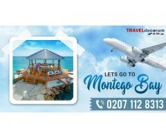 Avail London to Montego Bay Jamaica! Call 02071128313