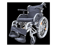 Z-Tec T Line Aluminium Self Propelled Wheelchair With Height Adjustable Armrests