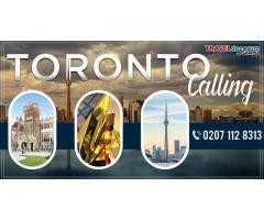Hurry up! Get cheap flights from London to Toronto booked with us Today