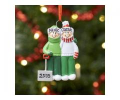 Personalised Family Christmas Tree Decoration Ornament - Embrace the magical moment of Christmas !!