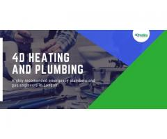 Contact 4D Heating and Plumbing for Emergency Plumbing Services