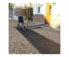 Roll Out Trackway for Wheelchairs