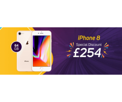 Refurbished iPhone 8 for sale in just £254 in UK