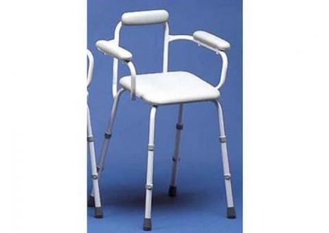 Luxury Stool With Back & Arms
