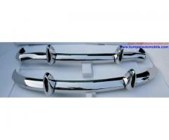 MGB (1962-1974) bumpers by stainless steel