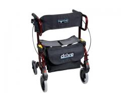 Diamond Rollator and Transport Wheelchair In One