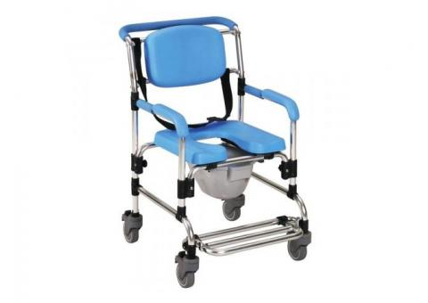 Ocean Wheeled Shower/ Commode Chair