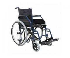 Folding Self Propelled Wheelchair - Essential Aids UK