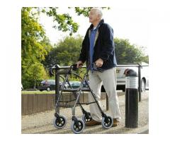 Mobility Care Heavy Duty Rollator - Titanium