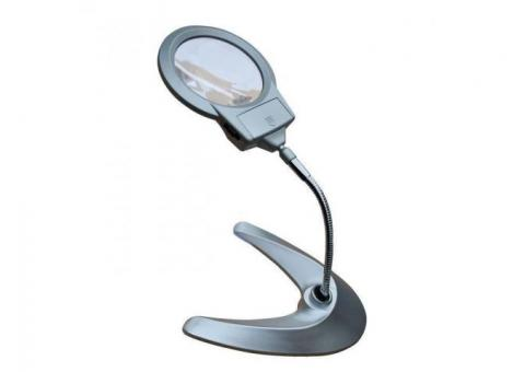 Bright Lighting and Magnifying Glass, Desk Lamps, and Reading Lamps