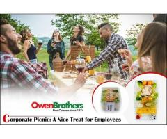 Office Lunch Catering - Owen Brothers Catering