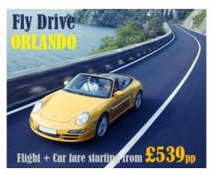 Call us 0207-112-8313 for Cheap Fly Drive Orlando