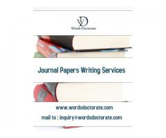JOURNAL PAPERS WRITING SERVICES